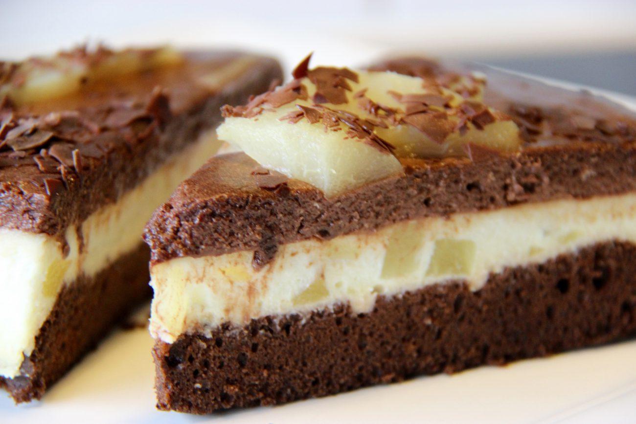 Bavarois poires chocolat